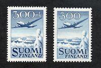 Finland - Sc# C3 & C4 MH         /       Lot 0520218