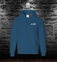 Line Of Duty AC12 Mens Womens Unisex Hoodie Hooded Sweatshirt Air Force Blue
