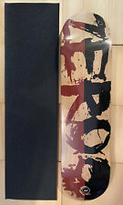 """Zero Skateboard Deck 8.0""""x31..6"""" New Sealed With Grip Tape Top Color Gray"""