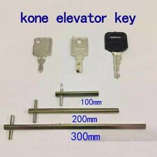 new 6pc elevator key set, triangle key, elevator lock key fit kone
