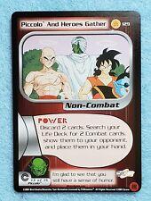 2001 Dragonball Z CCG Trunks Saga #129 PICCOLO AND HEROES GATHER Ltd Ed NM