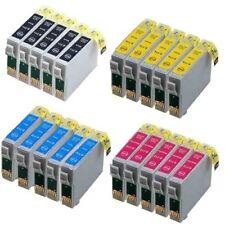20 Tinten Patrone für Epson Stylus SX218 SX100 SX200 DX4400 DX4050 DX7400 DX7450
