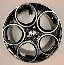 4 Cerchi in lega Alfa Romeo 18 Giulietta 159 Brera Blackline SCUDERIA JTDM 2