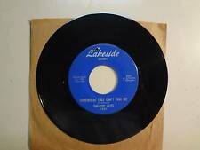 """ONE- EYED JACKS: Somewhere They Can't Find Me-Die Today-U.S. 7"""" 67 Lakeside 1981"""