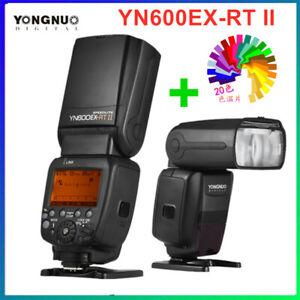 YONGNUO YN600EX-RT II  Wireless Flash light Speedlite TTL HSS For Canon Cameras