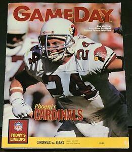 1990 NFL GAMEDAY PROGRAM MAGAZINE ARIZONA CARDINALS VS. CHICAGO BEARS