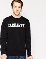 Felpa girocollo uomo P/E 2019 CARHARTT WIP College Sweatshirt I024668 Black