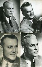 Raymond ROULEAU LOT de 4 PHOTOGRAPHIES sur CARTES dont HARCOURT - 2 -