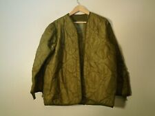 USGI US Military M-65 Field Jacket M65 Cold Weather Coat Liner Size Small