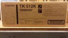 Genuine New Sealed Kyocera TK-512K Black Toner Cartridge New Sealed