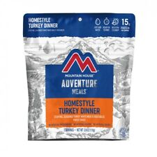 Six [6] - Homestyle Turkey Dinner Mountain House Freeze Dried Food Pouch Pro-Pak