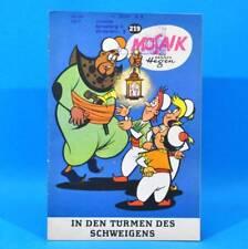 Mosaik 219 Digedags Hannes Hegen Originalheft   DDR   Sammlung original MZ 10