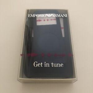 2 x Emporio Armani Blue Ipod Case BNWT BNIB Silicone Rubber Skin Nano Classic