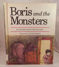 """Vintage Children's Book - """"Boris and the Monsters"""" by: Elaine Macman Willoughby"""