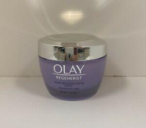 Olay Regenerist Fragrance-Free Night Recovery Cream Moisturizer 1.7oz New No Box