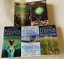 David Eddings - Bulk Lot of 5 x Books from Various Series -
