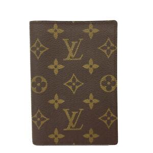 Louis Vuitton Monogram Couverture Passeport Case /C0639