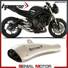 Exhaust Hp Corse Hydroform Satin Triumph Street Triple 765 2017 > 2019