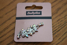JOB LOT 5 x Babyliss Vintage Style Diamante Flower Leaf Design Hair Clips Grips