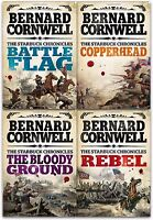 Starbuck Chronicles Collection Bernard Cornwell 4 Books Set Copperhead, Rebel