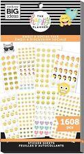 Crear 365 el planificador feliz Mini Pegatinas-emoji /& social hablar 1608 Nuevo