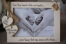 Personalised Photo Frame by Filly Folly! New Baby Gift! 7x5''!