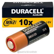 10x MN21 DURACELL Security Batterie A23 LR23A LRV08 V23GA K23A 12Volt