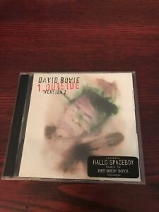 David Bowie - 1. Outside Version 2 - 2CD  - Australian Import -1996