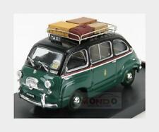 Fiat 600D Multipla Taxi Milano 1960 Green Black BRUMM 1:43 R334