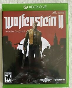 Wolfenstein II: The New Colossus (Microsoft Xbox One, 2017) GAME COMPLETE TESTED