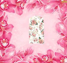 Blumen - 15 Wraps Nail Art Tattoo Sticker Decal Fingernägel Fuß-Nägel Aufkleber