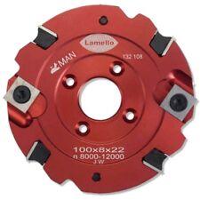 Lamello nutfräser - 100x8x22-pour s18 connecteur pour classic, Top 20 & Top 21 -