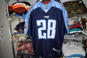 Chris Johnson Tennessee Titans Jersey Men's XL Reebok