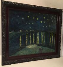 Van Gogh Reproduction-Starry Night Over The Rhone by K.A.Davis