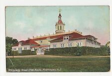 USA, Whippany River Club House Morristown NJ Postcard, A815