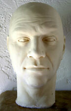 "LORNE GREENE ""BEN CARTWRIGHT"" LATEX HEAD from MOVIELAND WAX MUSEUM by PAT NEWMAN"