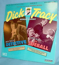 LD laser DbFeat DICK TRACY DETECTIVE and VS. CUEBALL