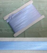 Bias Binding  Satin  Blue  13mm wide x 15mts