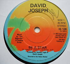 "David Joseph-ser una estrella-Excelente Con 7"" SINGLE"