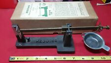 Redding Powder and Bullet Scale with Original Box-Reloading. Excellent Condition