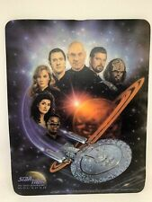 Star Trek Next Generation Stng Picard Crew Mousepad Vintage 1992!