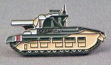 SCORPION TANK - PIN BADGE - ARMY  (NB-30)