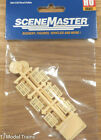 Walthers #949-4129 Wood Pallets -- Kit (12 Pallets) Plastic (HO Scale)
