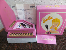 Barbie Solo In The Spotlight Fossil Watch with Pink Grande Piano Case 1995 MIB