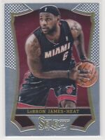 2013-14  LeBron James Panini Select NBA Basketball Card # 24 Los Angeles Lakers