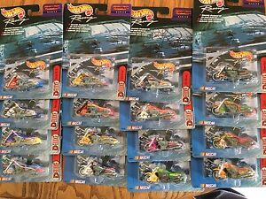 1999 Hot Wheel Racing Scorchin' Scooter - Set of 16 - w/signed #44 by Kyle Petty