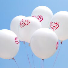 50 X 12 inch Printed - Hearts Latex Balloons Valentine's Day