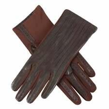 Dents Olivia Women's Leather & Elastane Driving Gloves MOCCA