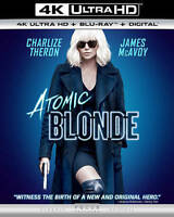 Atomic Blonde (4K Ultra HD+Blu-ray/Digital Code)NEW-Free Shipping with Tracking~