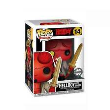Hellboy with Excalibur Sword OFFICIAL  POP Previews Exclusive FIGURE FROM  UK
